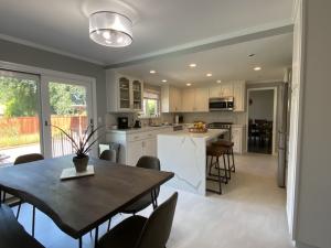 Tile Floors, Kitchen Refinish, Painting Cabinets