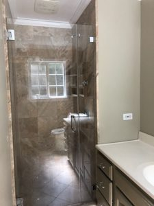Full Master Shower and Master Walk-In Closet